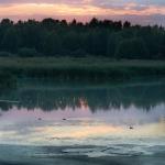Iltarusko altailta - Kuva Esa Mälkönen