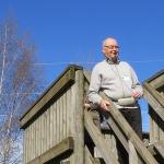 Lintuharrastuspäivän pääkoordinaattorina toimi Tommi Heinonen. Kuva: Bore Wanner