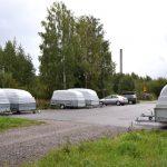 Parkkipaikka jonkun omassa käytössä - Kuva Tommi Heinonen