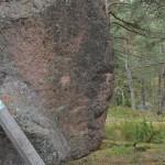 Iso siirtolohkare - luonnonmuistomerkki - Kuva: Tommi Heinonen