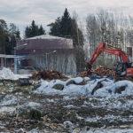 Tulevan pumppuaseman aluetta - Kuva: Jukka Ranta