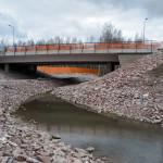 Länsimetro ja Bondaksen silta - Kuva: Jukka Ranta