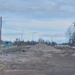 Kohti parkkiksen ympyrää - Kuva: Jukka Ranta