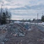 Finnoonsilta parkkiksen ympyrältä nähtynä - Kuva: Jukka Ranta