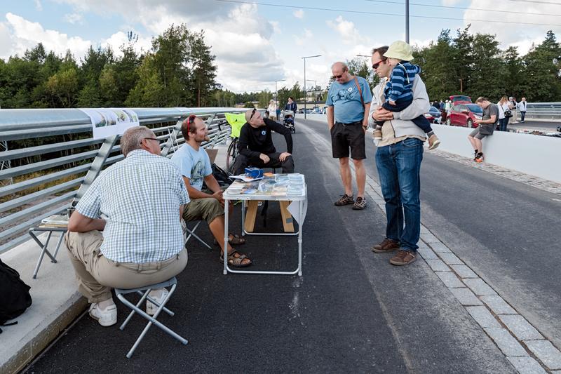 Finnevikinsillan avajaiset - Kuva: Jukka Ranta