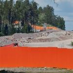 Puhdistamon vanhalta portilta näkee pitkälle - Kuva: Jukka Ranta