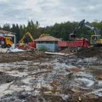 Verkko-osaston takapiha - Kuva: Jukka Ranta