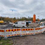HSY:n verkko-osaton rakennus hävisi - Kuva: Jukka Ranta