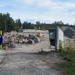 Bussipysäkki on siirtynyt - Kuva: Jukka Ranta