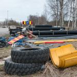 Parkkipaikan varasto - Kuva: Jukka Ranta