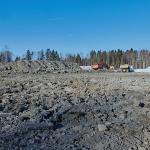 Maisema lämpöpukelta katsottuna - Kuva: Jukka Ranta