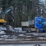 Mäyrien pesäluolasto häviää - Kuva: Jukka Ranta