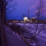 Kaasukellon valaistus - Kuva: Tommi Heinonen