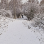 Lauantaina oli maisema talvinen - Kuva: Paul Stevens