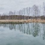 Allas jäiden lähdettyä - Kuva Jukka Ranta