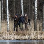Opastukset kuuluvat kevääseen - Kuva: Risto Keränen