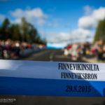 Finnevikinsilta avattiin Espoo-päivänä 29.8.2015 kansanjuhlassa