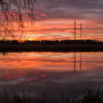 Auringonlasku - Kuva Paul Stevens