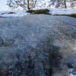 Jäävaluma (tallia vastapäätä) - Kuva Paul Stevens