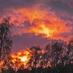 Maaginen auringonlasku 1- Kuva Esa Mälkönen