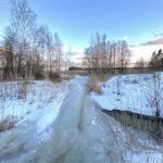 Puro oli jäässä 19.3 - Kuva Jukka Ranta