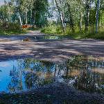 Sateen jäljet - Kuva Jukka Ranta