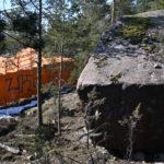 Finnoonkallion rakentaminen ja luonnonmuistomerkki, huhtikuun kooste – Viikko 17/19