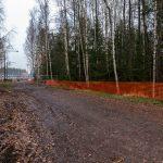 Suljettu Hyljeluodontie, aidattu metsä - Kuva Paul Stevens