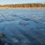 Altaan jää on pysynyt - Kuva: Jukka Ranta
