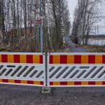 Luontopolku suljettu - Kuva: Jukka Ranta