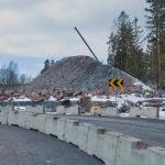Näkymä Finnoonsillalle parkkipaikan liikenneympyrältä - Kuva: Jukka Ranta
