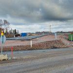 Finnoonsilta rakentuu - Kuva Jukka Ranta