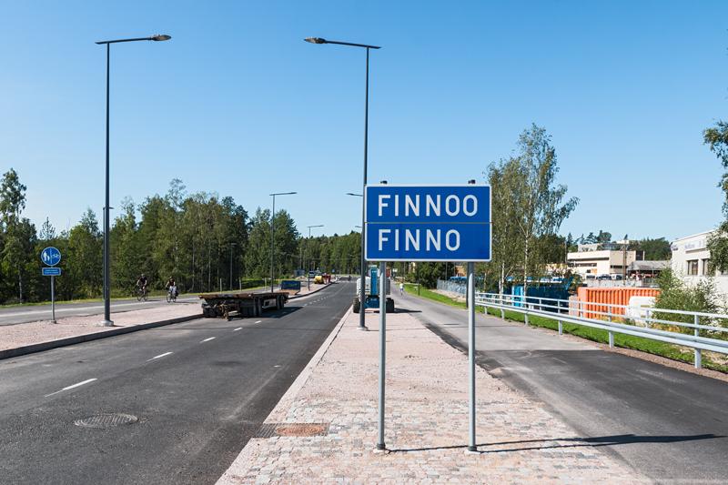 Uusi silta tuo Finnooseen - Kuva: Jukka Ranta