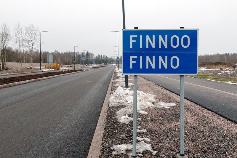 Uusi Kaitaantie helmikuussa 2015 - Kuva: Jukka Ranta