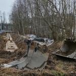 Kaukolämpöputkien korjausta - Kuva: Jukka Ranta