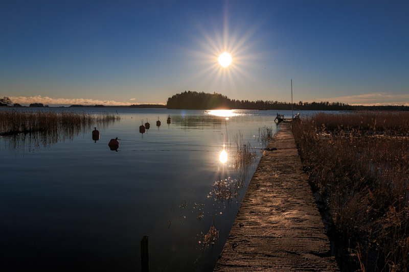 Nuottalahden laituri (No 29) keskiviikkona - Kuva: Jukka Ranta