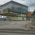 Metrokeskus/Luontokeskus saa terassin - Kuva Jukka Ranta