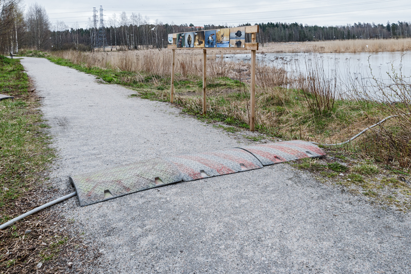 Maaperätutkimus tarvitsee vettä - Kuva: Jukka Ranta