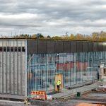 Metrokeskuksen ikkunat ovat saaneet lasit - Kuva Jukka Ranta