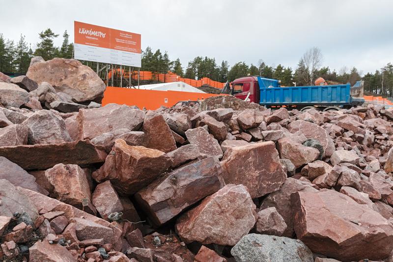Länsimetro ja Finnoonsilta - Kuva: Jukka Ranta