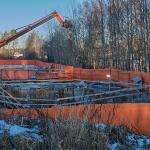 Finnoon metrokeskuksen hissikuilu - Kuva: Jukka Ranta