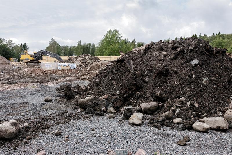 Hissikuilun rakentamista - Kuva: Jukka Ranta