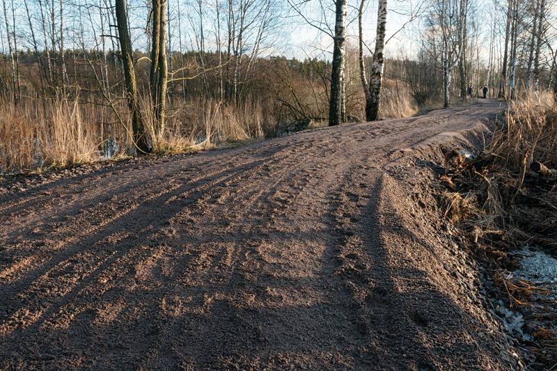 Polun kunnostamista on jatkettu - Kuva: Jukka Ranta