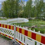 Rantaraitilla poikkeusjärjestelyt ovat edelleen voimassa - Kuva Jukka Ranta