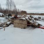 Läntinen kävelytie ja rojut - Kuva: Jukka Ranta