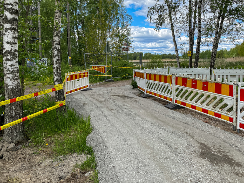 Kulku Rantaraitilta avautui - Kuva Jukka Ranta