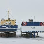 Venesataman talvea - Kuva: Jukka Ranta