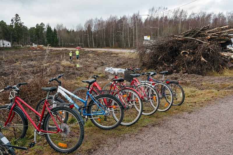 Uuden tien ja Kaitaantien kohtaamispaikalla - Kuva: Jukka Ranta