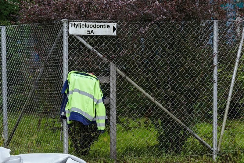 Hyljeluodontiellä kaivetaan - Kuva: Jukka Ranta