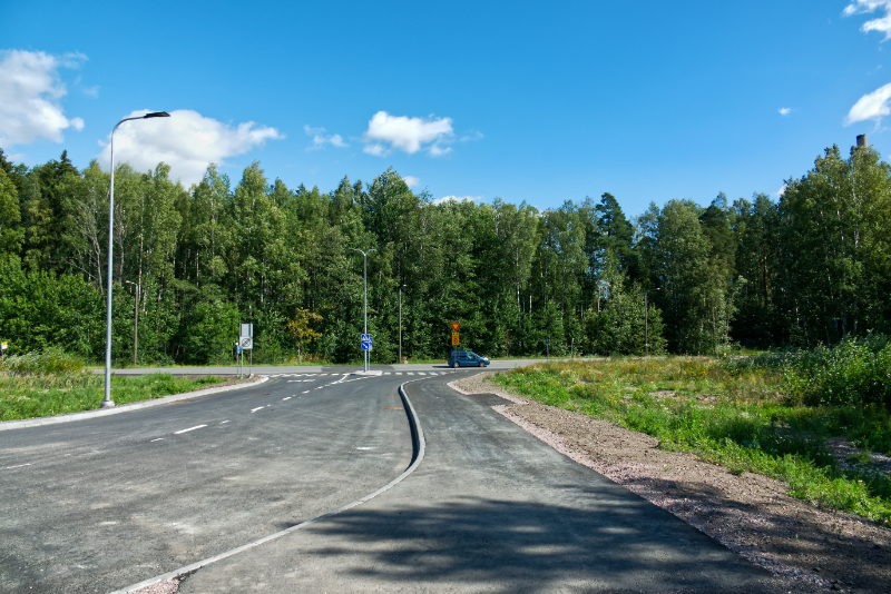 Syväsalmenkadun ja Meritien risteys - Kuva: Jukka Ranta